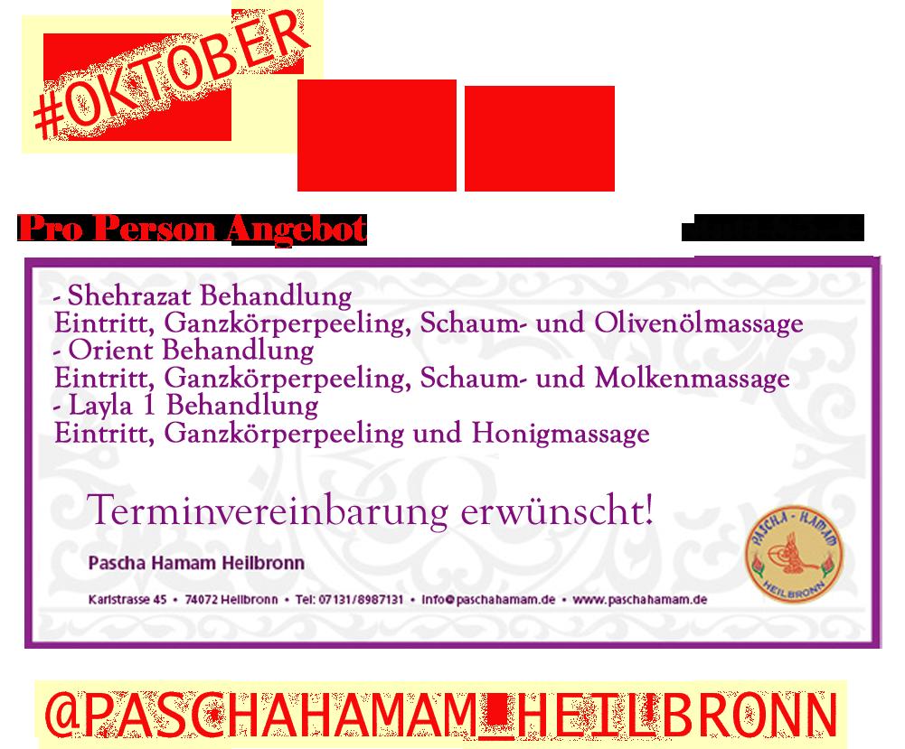 Pascha Hamam Wellness Sauna Massage Heilbronn